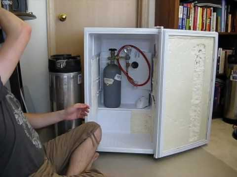 Converting A Magic Chef 44 Cubic Feet Mini Fridge Into A Kegerator