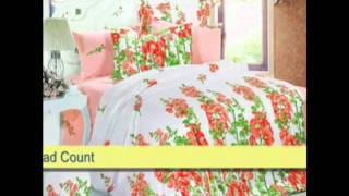 Jacquard Duvet Covers From Arya Bedding & Le Vele Bedding