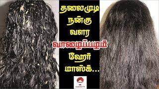 #Hairmask தலைமுடிக்கு வாழைப்பழம் ஹேர் மாஸ்க் | Banana hair mask for hair growth in Tamil |