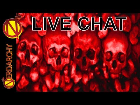 Talking Gaming- Critical Hit Publishing to Roll Up & Die Podcast| Nerdarchy Live Chat #121