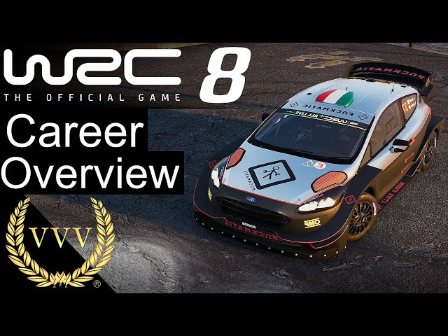 WRC 8 Career Overview | 1st Hour