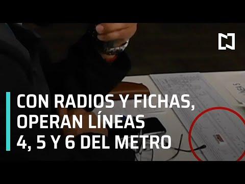 Incendio en el Metro CDMX | Con radios operan líneas 4, 5 y 6 del Metro - En Punto