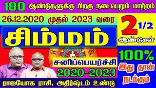 சிம்மம் ராசி சனிப்பெயர்ச்சி பலன்கள்    Simmam  Sani Peyarchi Palangal 2020-2023   2020-2023