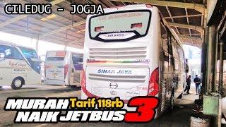 TARIF 118rb Bisa Sampai JOGJA! Trip Report Sinar Jaya 57RD Ciledug-Jogja