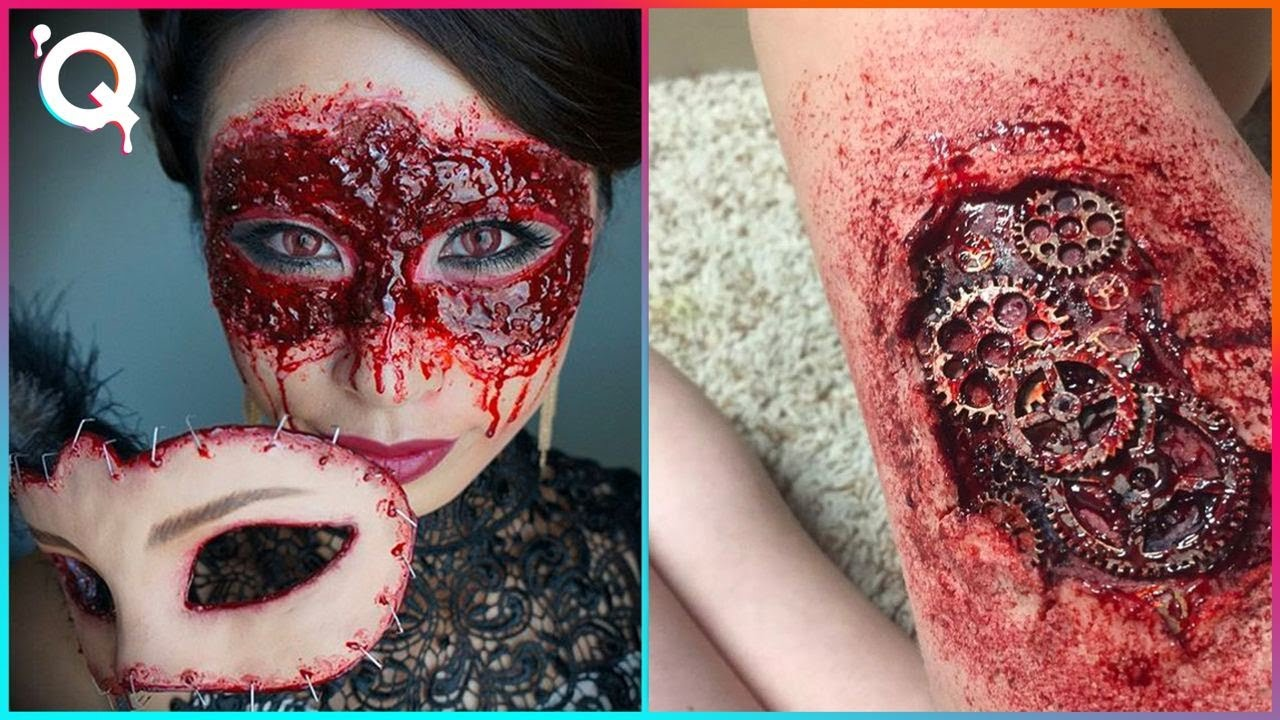Halloween Makeup Artist Who Are At Another Level ▶11