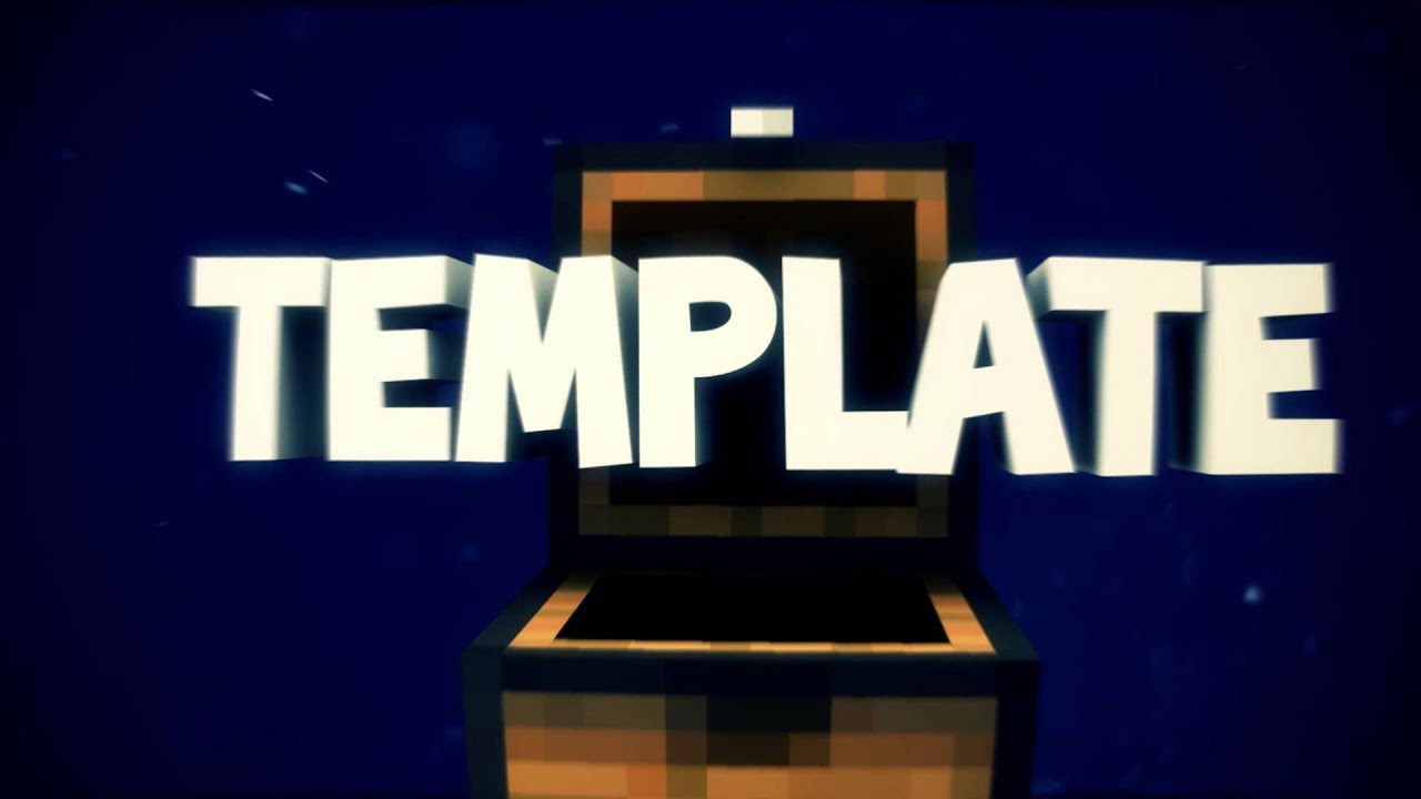 free minecraft intro template by raijin youtube. Black Bedroom Furniture Sets. Home Design Ideas