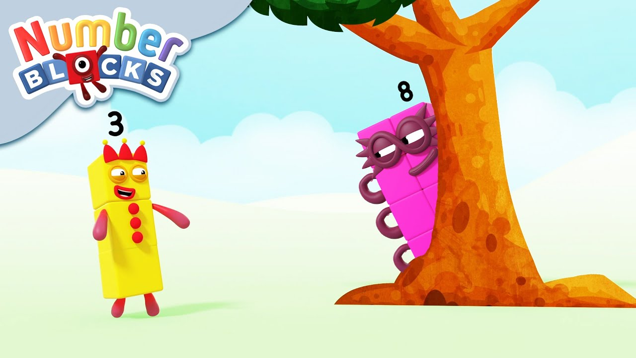 @Numberblocks   Spot the Octoblock 🤔💭💫   Educational   Learn to Count