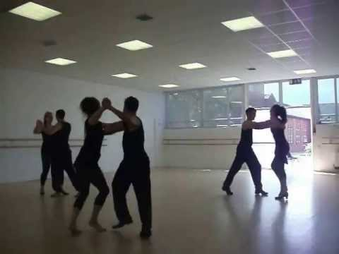 Peruvian Salsa danced by Blackpool and the Fylde College Students (Performing Arts)
