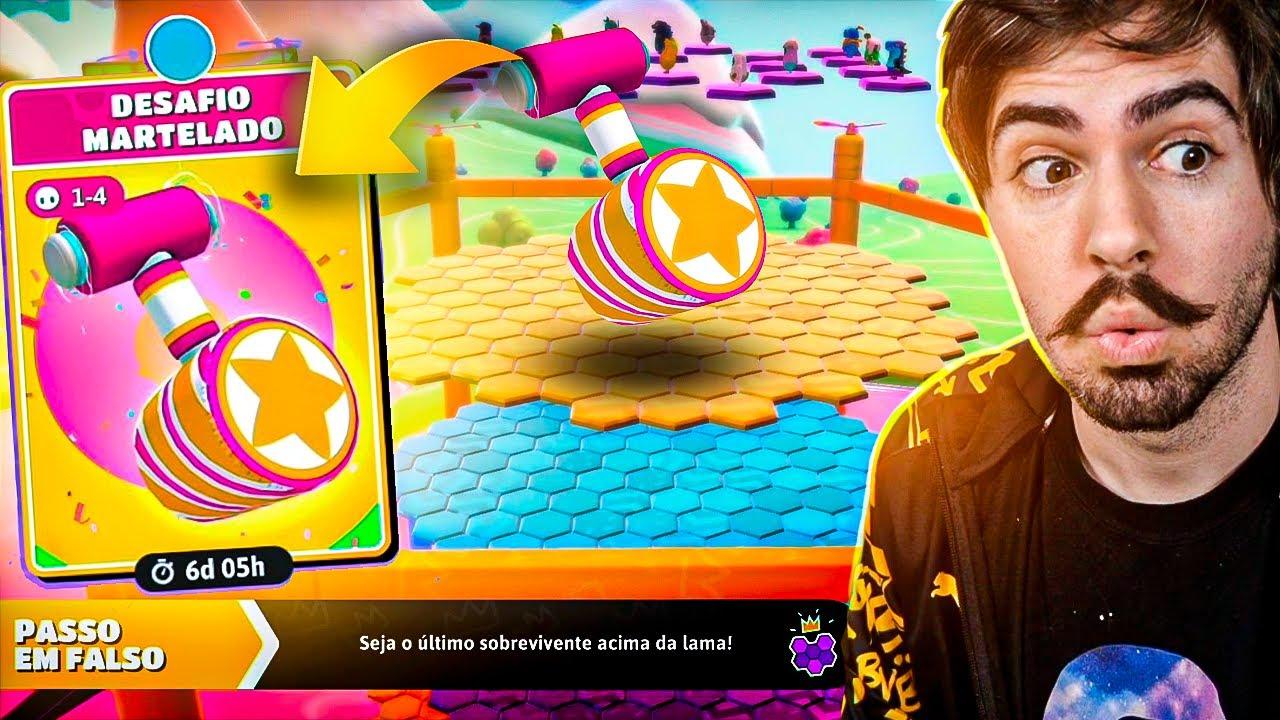 Download NOVO DESAFIO MARTELADO NO FALL GUYS!