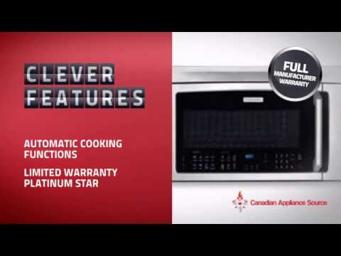 Electrolux EI30BM6CPS  Over The Range Microwave