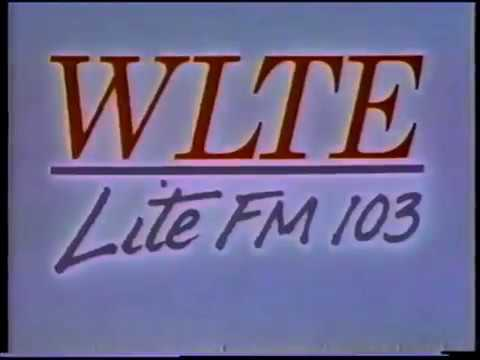WLTE  Lite FM 103 Radio Station Commercial 2 1993