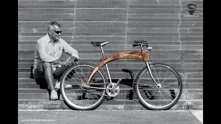 bicycle of wood