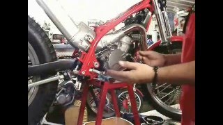 Jim Snell - USA - GASGAS ENGINE REPAIR TIPS, PRO CLUTCH COVER