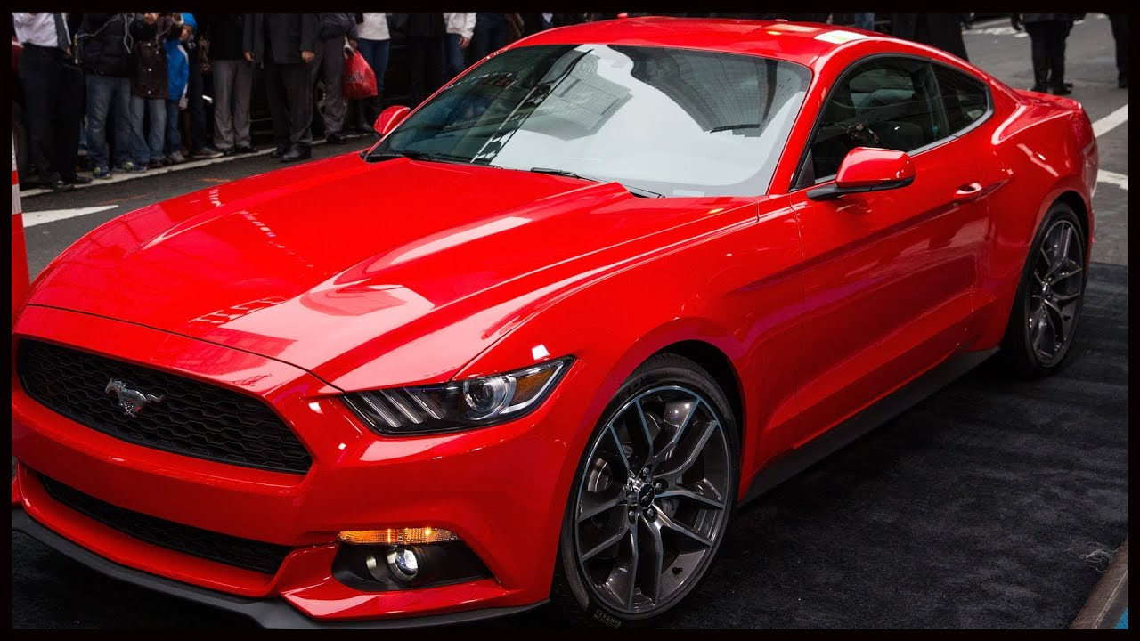 would you drive a 4 cylinder mustang ford 39 s ecoboost. Black Bedroom Furniture Sets. Home Design Ideas