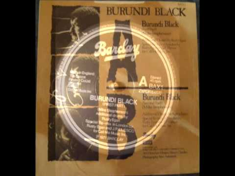 Burundi Black - Maxi Single Vinyl