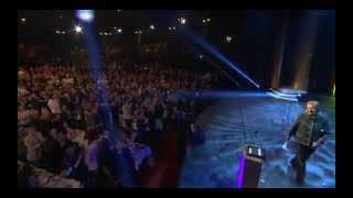 Jättejublet för Anni Frid Lyngstad vid en QX-galan 2015