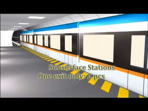 tripoli metro project animation
