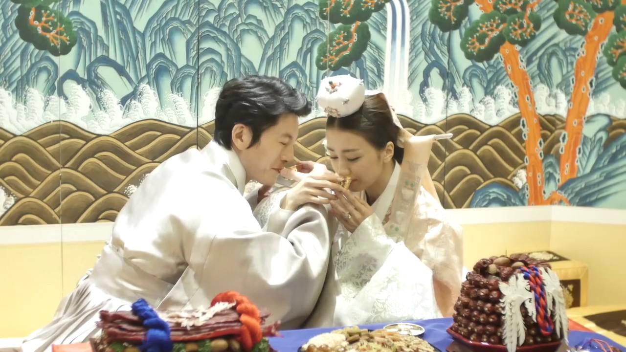 朴河宣柳秀榮婚禮視頻 Youtube