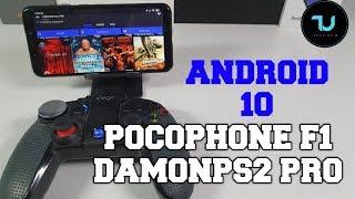Pocophone F1 DamonPS2 Pro Gaming test v3.1.2 Android 10 NEW version update/Snapdragon 845