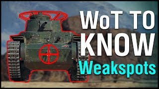 WoT to Know: Armour and Weakspots! (GUIDE)