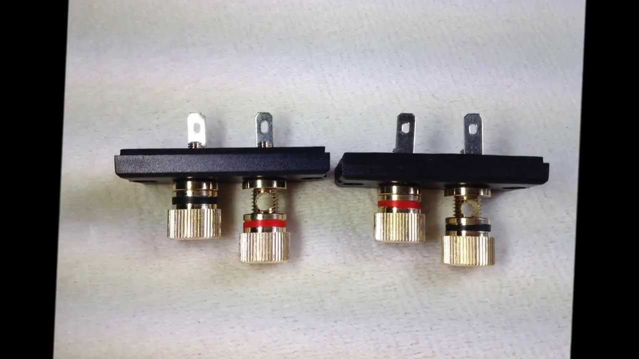 Ns10 Ns1000 Speaker Binding Posts Gold Terminals Yamaha