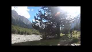 le tour du mont blanc vtt 2014