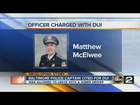 Police Captain's DUI