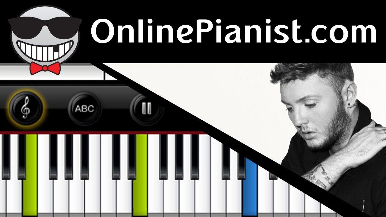 partition piano wrecking ball james arthur