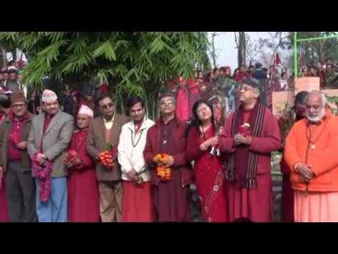 Osho Upaban Inauguration by the Right Honorable President of Nepal Dr Ram Baran Yadav