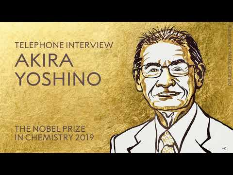 """Akira Yoshino: """"It is very important to think every day"""""""