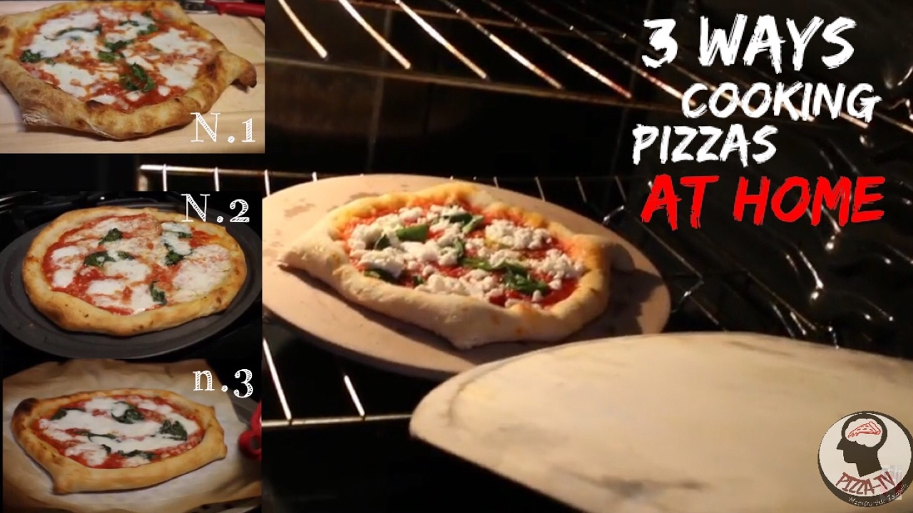 how to cook pizza at home