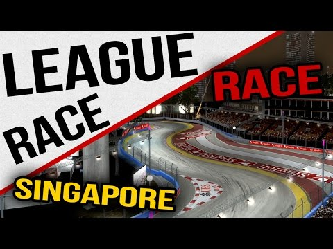 F1 2013 - Full AOR League Race - Singapore - No Commentary