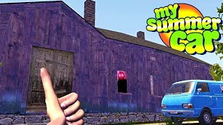 My Summer Haunted Mansion Update - My Summer Car Gameplay Highlights Ep 116