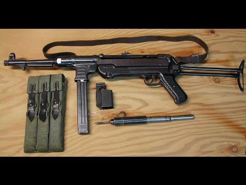 Germans Submachine Gun MP40   Its Usefulness in World War I   Military
