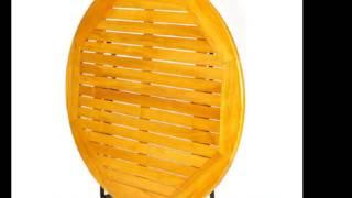 [노아디자인가구]  접이식 원형테이블로 제작되어 카페나…