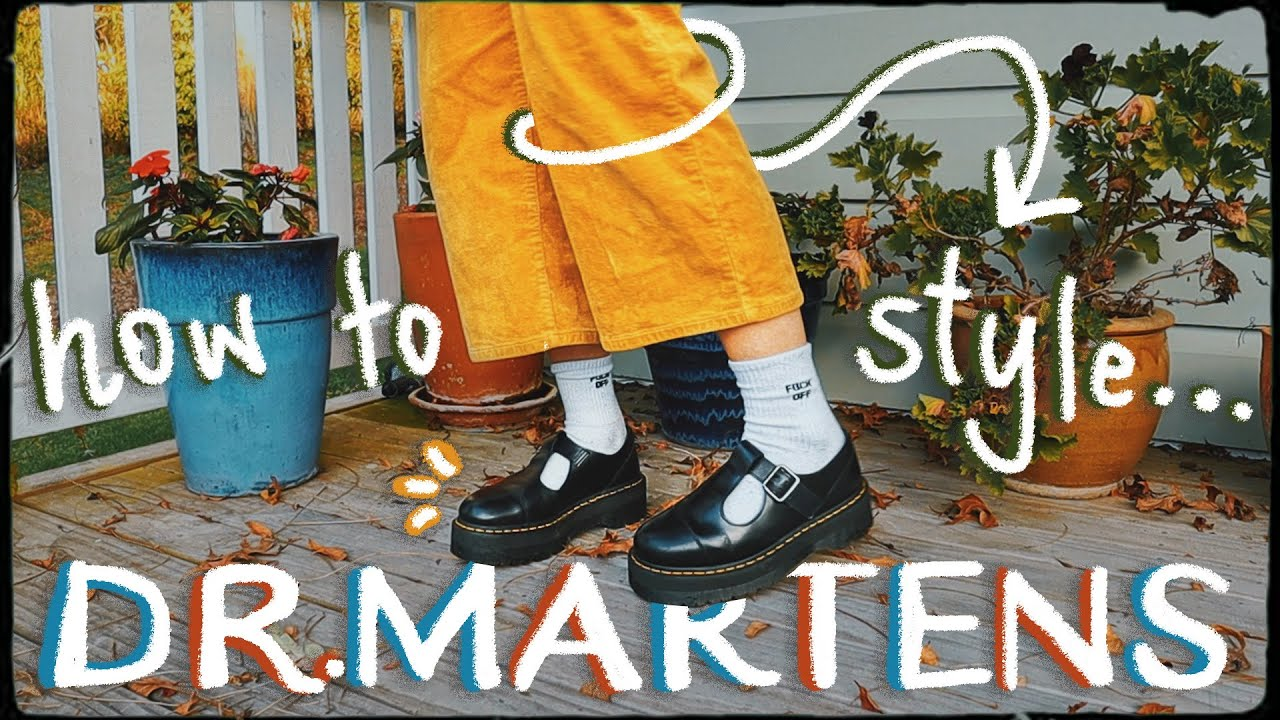 Download How to style Dr Martens Bethan + Review