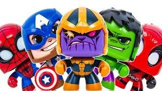 Funko Pop Avengers Appeared Defeat Thanos & Dinosaur~ Save The City #Toymarvel
