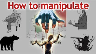 how to control people(machiavellianism) - law 8