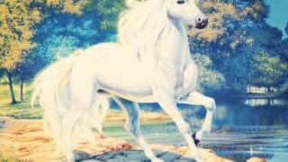Лошади, единороги, пегасы.