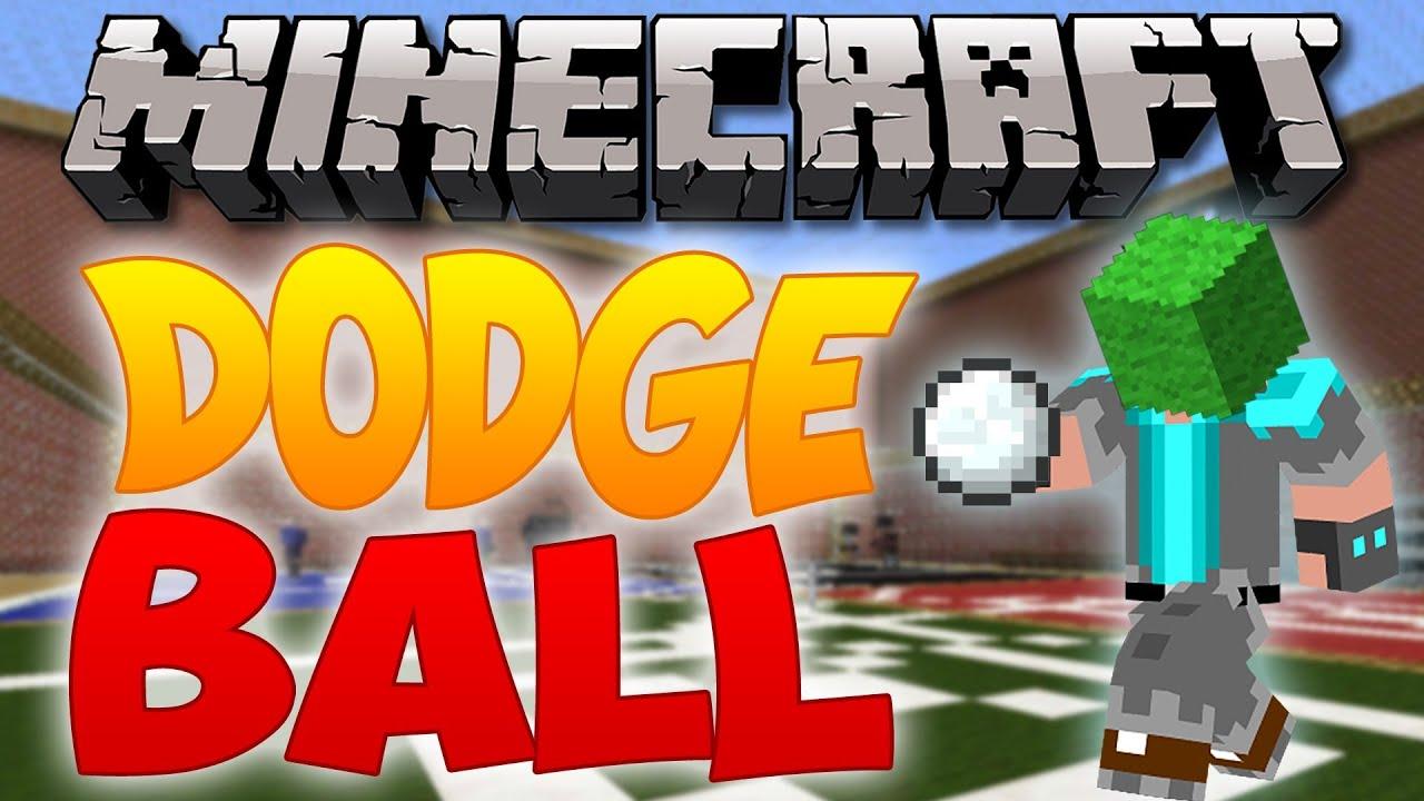 Minecraft Mini-Game : Dodgeball w/ Gizzy, DanTDM, ThnxCya!