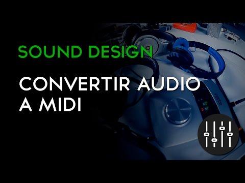 Convertir audio a midi