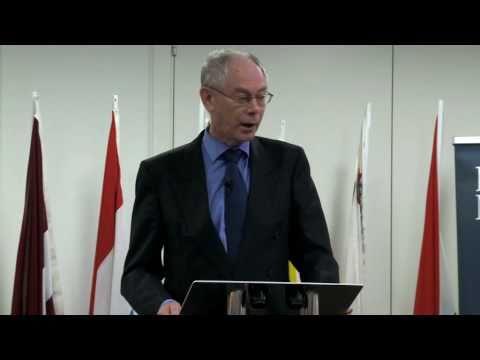 Herman Van Rompuy visit to London