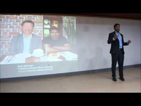 20150912 lecture/Chung Culture in the Eye of a Bangladeshi- Dr. Soumitra Kundu