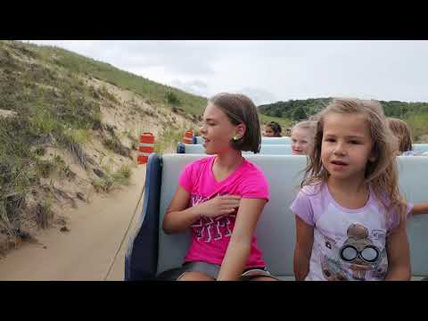 Offroad adventure on Michigan sand dunes