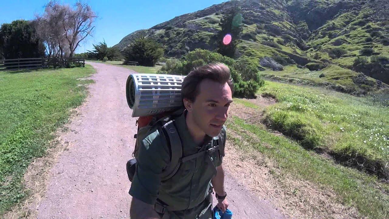 santa cruz island camping march 2016 (1/3) - youtube