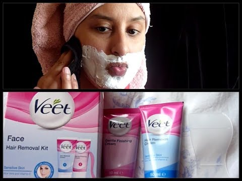 VEET FACIAL HAIR REMOVAL CREAM REVIEW