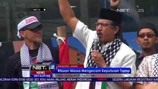 Aksi Solidaritas Palestina Ribuan Massa Mengecam Keputusan Trump - NET24