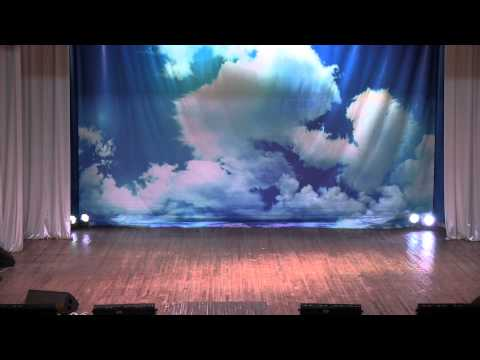 "Концерт школы спортивно-бального танца ""Экспрессия""  2014г"