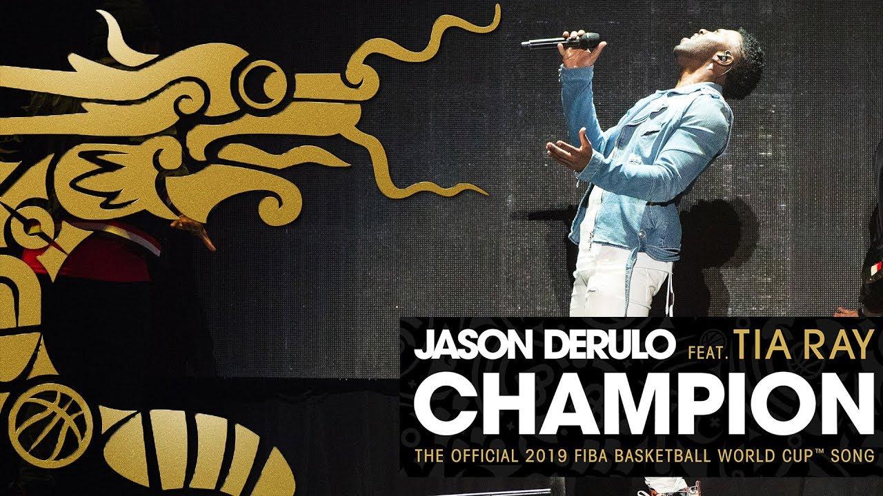 FIBA Dünya Kupası şarkısı Jason Derulo'dan