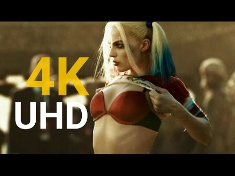 Suicide Squad Official Trailer  4K Ultra HD  Poster